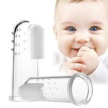 Integrated Oral Care IOC Silicone Finger Brush for Babies