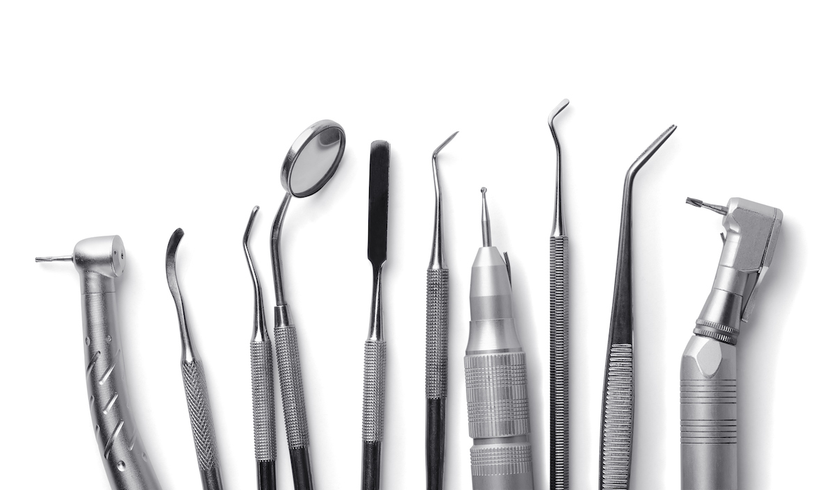 Teeth Cleaning Scaling and Polishing Dental Tools