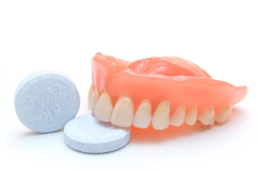 Healthy gums Dentures