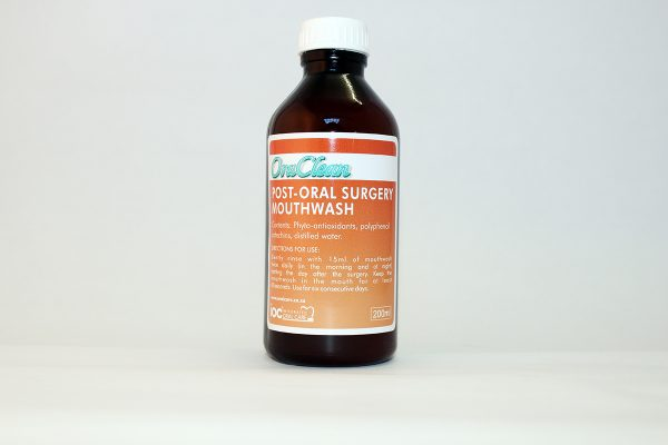 Integrated Oral Care IOC Post Surgery Mouthwash